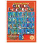 CHIPUL LITERELOR (carte de colorat cu poezii si exercitii joc pentru prescolari si scolarii mici)