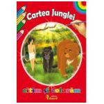 Citim si Coloram Cartea Junglei