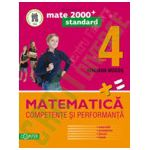 Matematica. Competente si performante, pentru clasa a IV-a. Standard