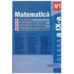 Matematica M1 Clasa a IX-a - Breviar teoretic - Exercitii si probleme rezolvate -Exercitii si probleme propuse