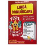 Limba si comunicare. Teste pentru elevii de gimnaziu, cls. 7-8
