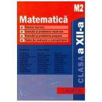Matematica M2. Culegere de probleme pentru clasa a XII-a - Marius Burtea