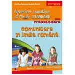 Comunicare in limba romana. Aprecieri sumative si finale standard clasa pregatitoare