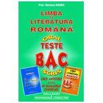 Bacalaureat limba si literatura romana. Oral, scris - Teste