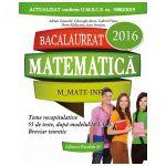BACALAUREAT 2016. MATEMATICA M_MATE-INFO. 55 DE TESTE REZOLVATE DUPA MODELUL M.E.C.S.