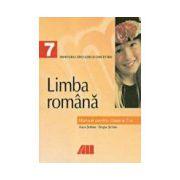 LIMBA ROMANA. MANUAL PENTRU CLASA a VII-a