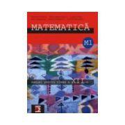 Matematica M1. Manual pentru clasa a XII-a