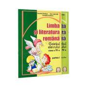 Limba si literatura romana - Caietul elevului clasa a-IV-a parte I si partea a-II-a