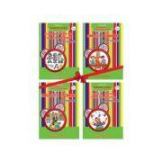 Comorile din gradinita - set 4 carti pentru grupa mijlocie