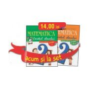 Set caiete Matematica pentru clasa a II-a (semestrele I si II). Stefan Pacearca, Mariana Mogos