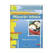 Masurari tehnice - Manual pentru clasa a IX-a