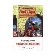 Vicontele de Bragelone, 4 volume