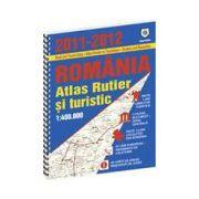 Atlas rutier si turistic Romania 2011-2012