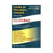 Limba si literatura romana clasa a XII-a. Indrumator pentru noua programa si noile manuale alternative
