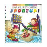 Prima mea carte de colorat - Sporturi