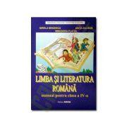 Limba si literatura romana. Manual pentru clasa a IV-a. Mirela Mihaescu