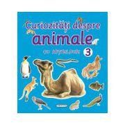 Curiozitati despre animale, cu abtibilduri 3