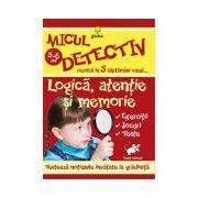 Micul detectiv-Logica, atentie si memorie 5-6 ani