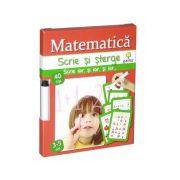 Scrie si sterge-Matematica 3-5 ani