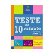 Teste de 10 minute clasa I