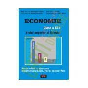 Economie. Manual pentru clasa a XI-a. Antet