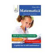 Matematica clasa a III a
