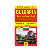 Bulgaria. Harta turistica si rutiera