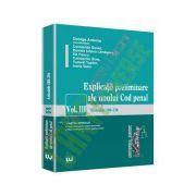 Explicatii preliminare ale noului Cod penal. Vol III - Partea speciala - art. 188-255