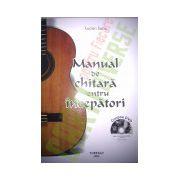 Manual de chitara pentru incepatori cu DVD