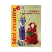 Flori si Zane din panglici de hârtie - Idei creative 76