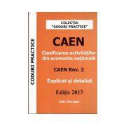 CAEN, editie 2013. Clasificarea activitatilor din economia nationala (Explicat si detaliat)