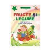 Fructe si legume. Fise-ghicitori pentru copiii creatori