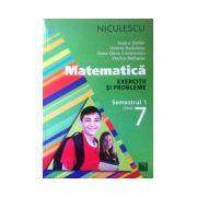Matematica clasa a VII-a, exercitii si probleme - semestrul 1
