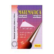 Matematica. Manual pentru clasa a VII-a - Radu