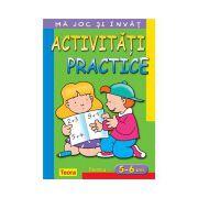 Ma joc si invat - Activitati practice pentru 5 - 6 ani. Editia 2013