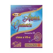 Auxiliar de Algebra si Geometrie pentru clasa a VII-a, semestrul II - 2014