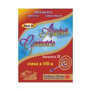 Auxiliar de Algebra si Geometrie pentru clasa a VIII-a, semestrul II - 2014