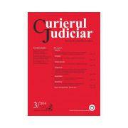 Curierul Judiciar, Nr. 3/2014