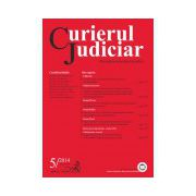 Curierul Judiciar, Nr. 5/2014