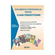 Documentele profesorului pentru clasa pregatitoare, 2014-2015