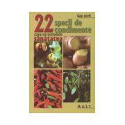 22 de specii de condimente care va ocrotesc sanatatea