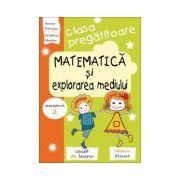 Matematica si explorarea mediului pentru clasa pregătitoare - Caiet de lucru -Semestrul 2