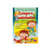 CULEGERE DE MATEMATICA. CLASA A IV-A. Diaconescu Liliana