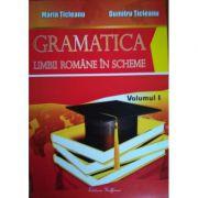 Gramatica limbii romane in scheme. Volumul I