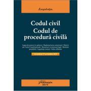 Codul civil. Codul de procedura civila. Actualizat 17 octombrie 2018