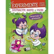 Experimente pentru copii – distractiv, rapid şi uşor, vol. 2 – verde