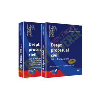 Oferta pachet Drept procesual civil. Vol. I + II. Teoria generala. Proceduri speciale