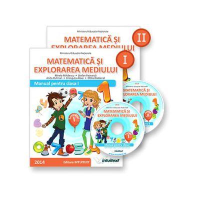 MATEMATICĂ ŞI EXPLORAREA MEDIULUI MANUAL PENTRU CLASA I SEMESTRUL I + II (ediție tipărită+ediție digitală)