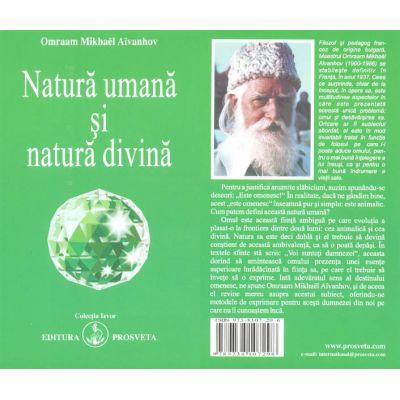 Natură umană şi natură divină