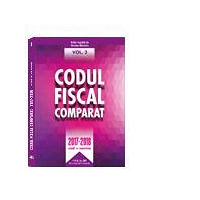 Codul Fiscal Comparat 2017-2018 (cod+norme) 3 volume